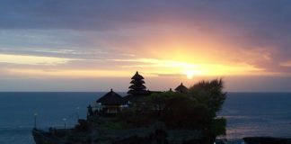 Temple at Tanah Lot Bali