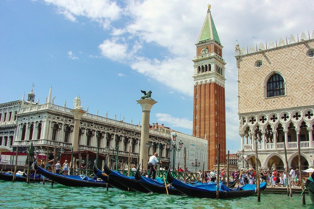 Piazza San Marco (St Mark's Square), Venice, Italy