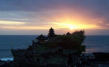 Temple at Tanah Lot Bali