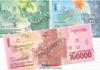 Uang Rupiah Baru, Indonesia