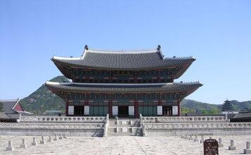 KeunJeongJeon in Gyeongbokgung, Seoul