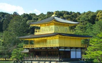 Kinkaku-ji (Golden Pavilion) at Kyoto, Japan