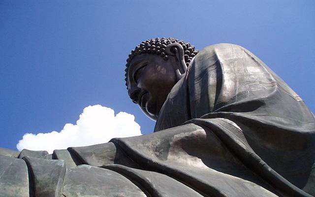 Tian Tan Buddha Face, Lantau Island, Hong Kong