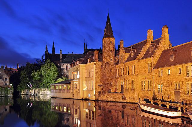 Brugges Dijver, Belgium