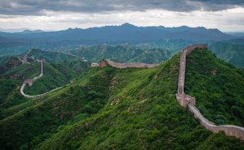 The Great Wall of China at Jinshanling